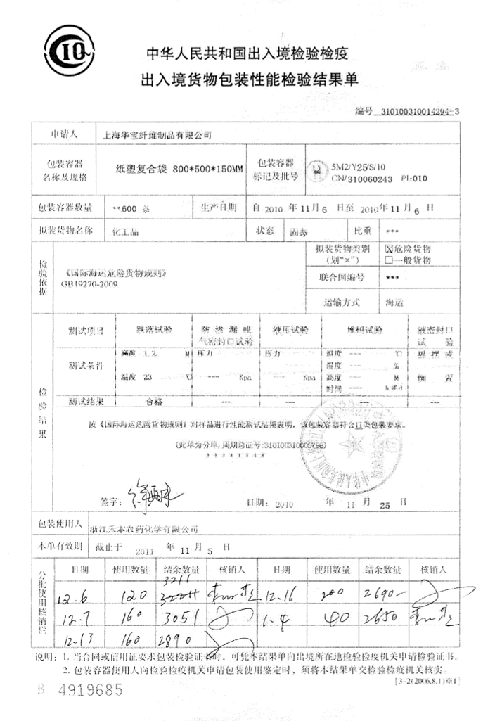 Сертификация тары для перевозки опасных грузов требования п.п 8.2 стандарта р исо 9001-2001